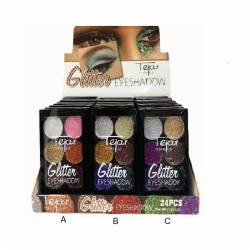 GLITTER EYESHADOW X6COL ART...