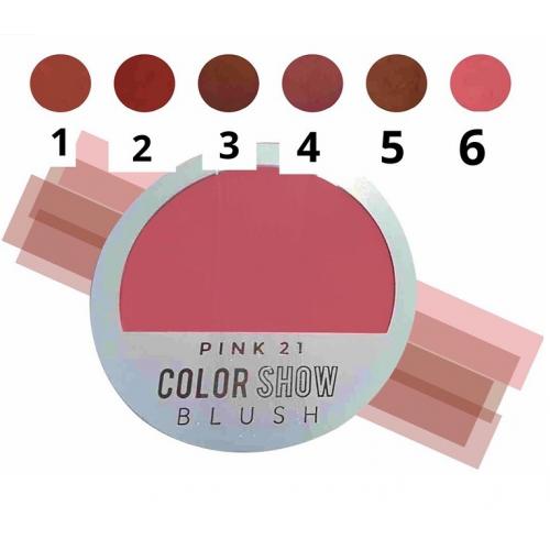 RUBOR PINK 21 COLOUR SHOW!...