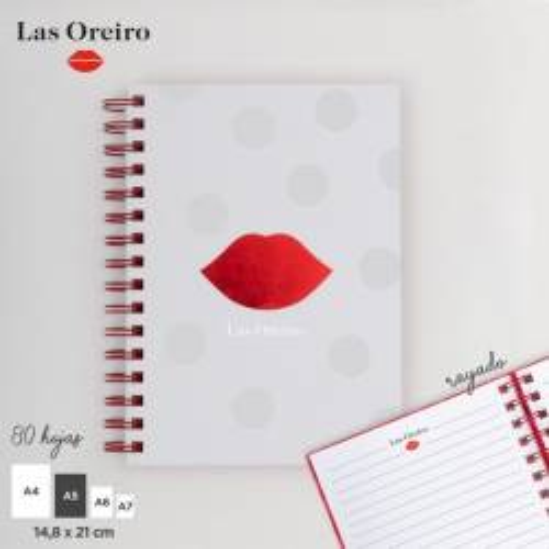 CUADERNO KISS ART 11276 BAK