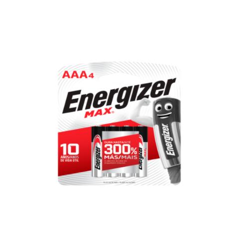 PILA ENERGIZER AAA X 4 MAX...