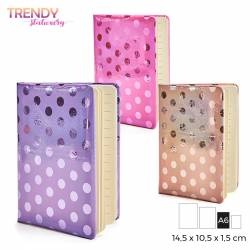 ANOTADOR SHINY DOTS TRENDY...