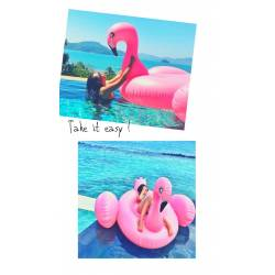 INFLABLE FLAMINGO ART...