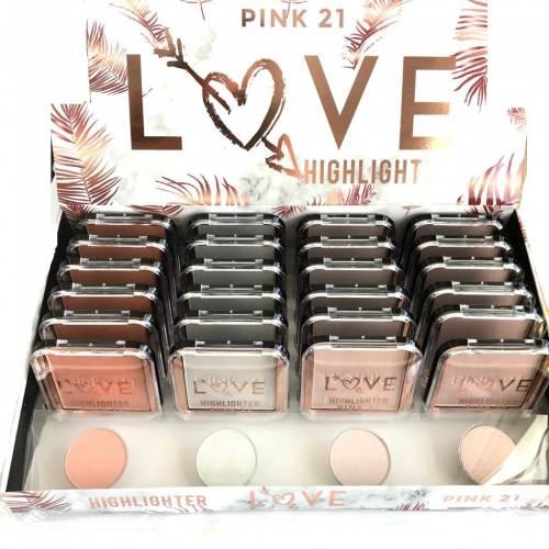 HIGHLIGHTER LOVE PINK SRT...